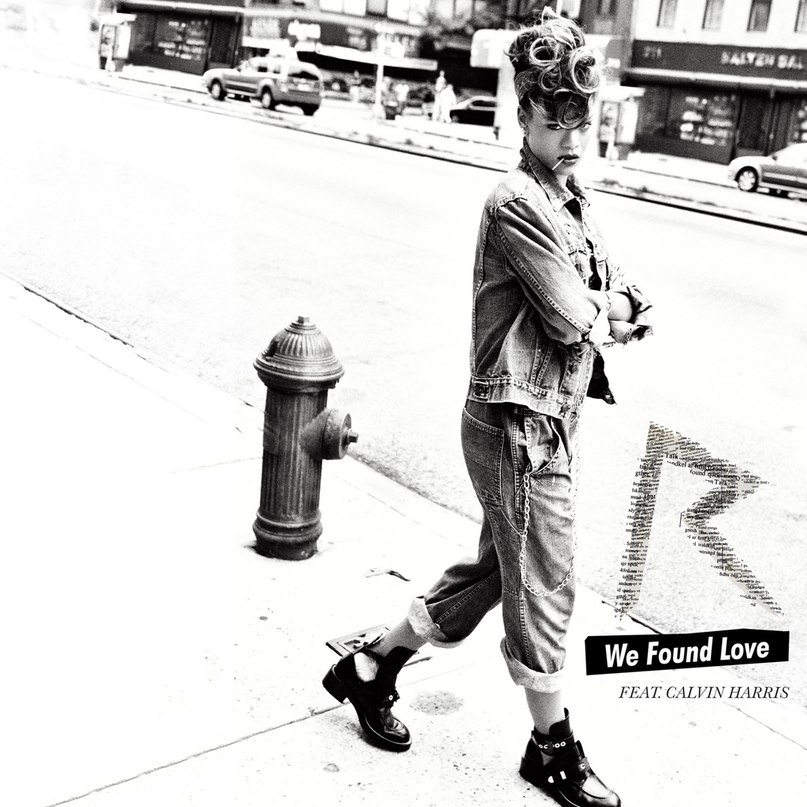 We Found Love( РАДИО ДИ ФМ) Rihanna ft. Calvin Harris