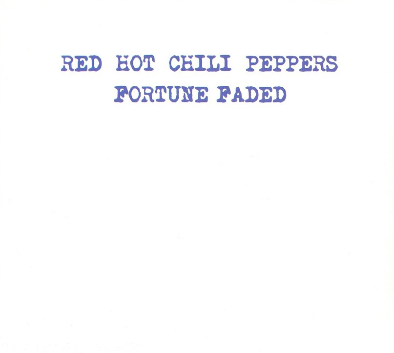Fortune Faded Red Hot Chili Peppers